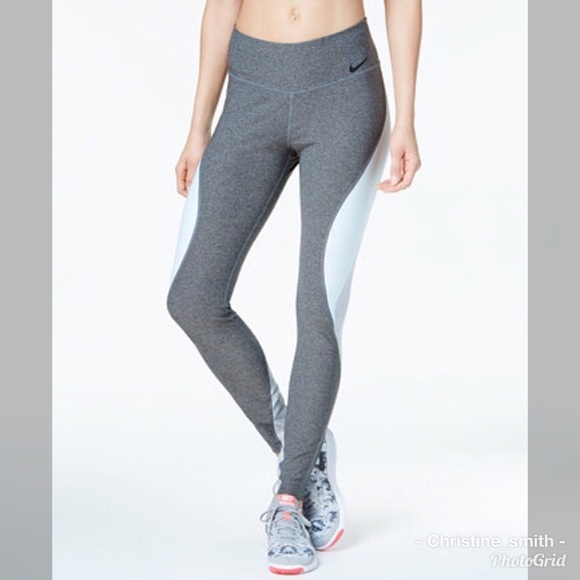 0d6b3ba52ce25 Nike Pants | Womens Power Legend Colorblock Tights | Poshmark